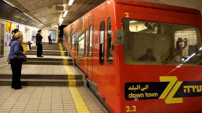 метро в Хайфе