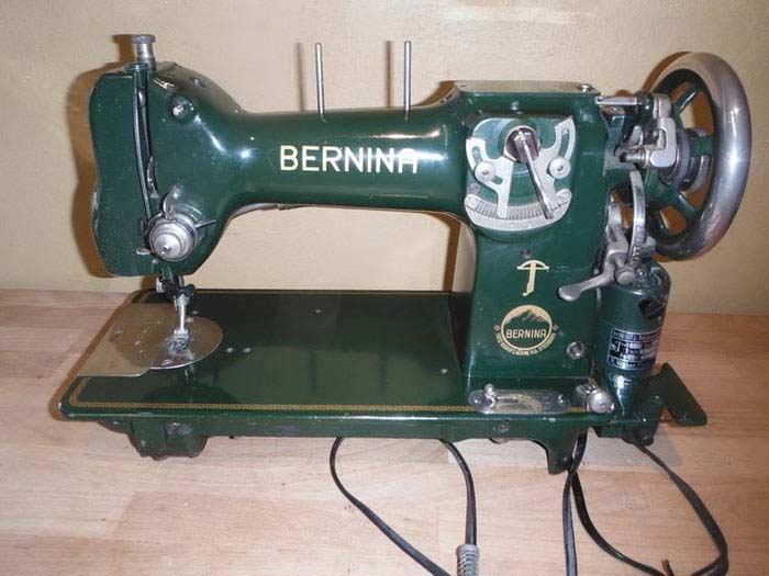 Bernina: 13 моделей швейных машинок
