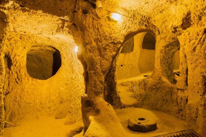 Турции нашли тайный подземный ход
