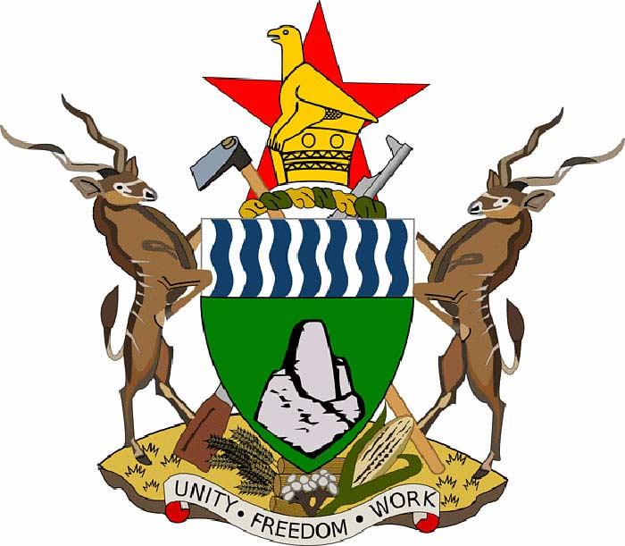 На государственном гербе Зимбабве