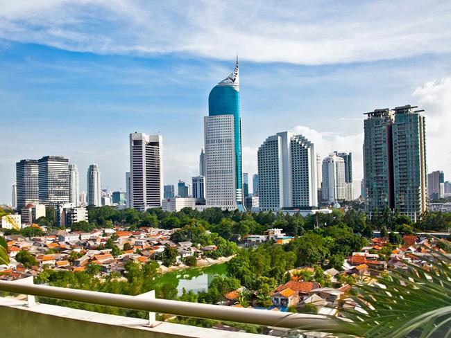 Самые большие города. Джакарта