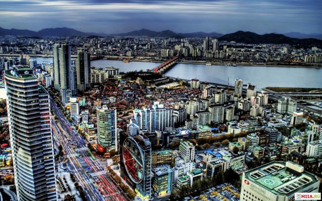 Самые большие города. Сеул