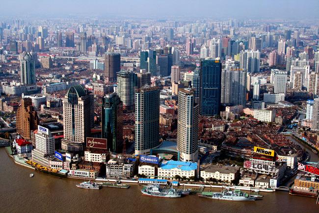 Самые большие города. Шанхай