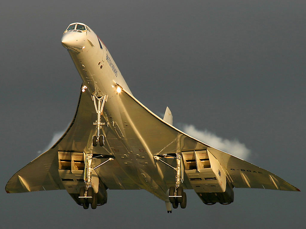 Топ 10 фактов о самолете «Конкорд»