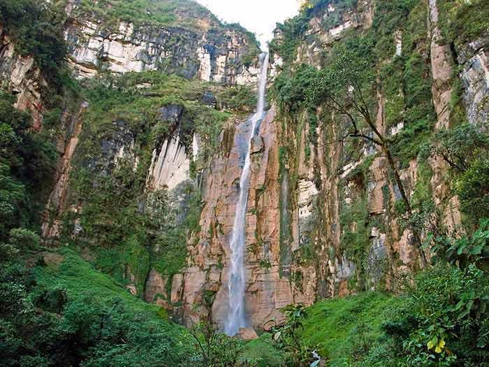 Водопад Yumbilla