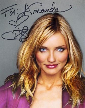Топ 10 автографов актрис Голливуда