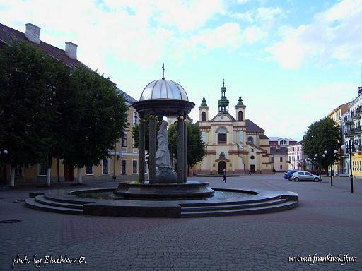 площадь Шептицукого