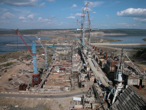Богучанская гидроэлектростанция