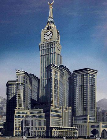 Часы на башне Абраж аль-Баит