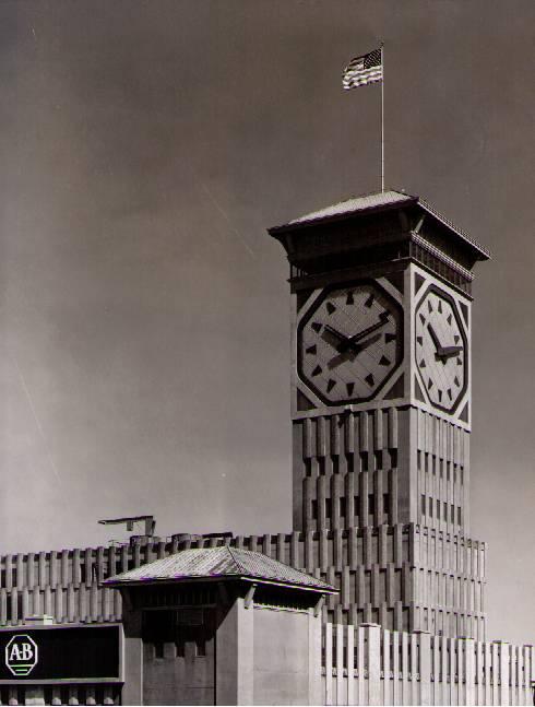 Часы на башне Allen-Bradley