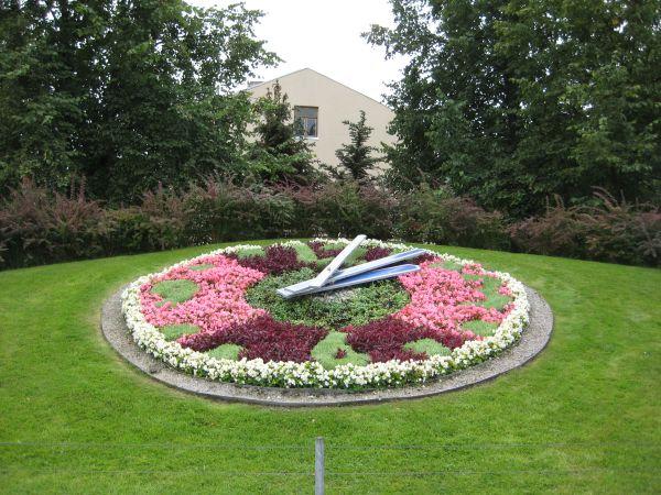 Цветочные часы во Франкфурте