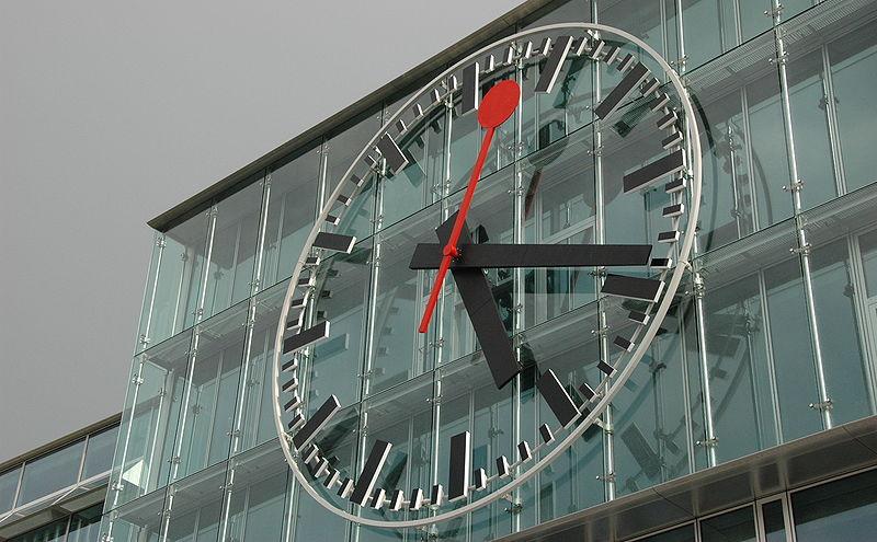 Часы железнодорожной станции Aarau