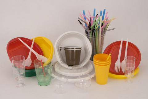 на ужин пластик