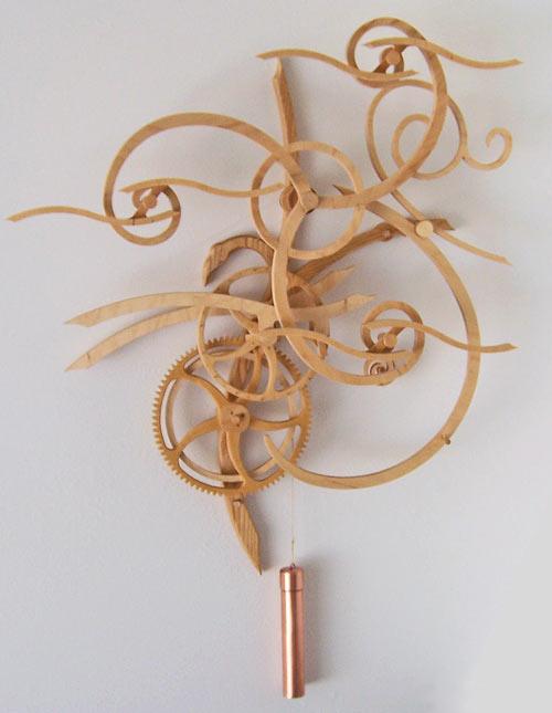 Топ 10 деревянных кинематических механизмов Клейтона Боейра