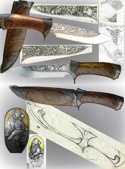 Нож Русский медведь