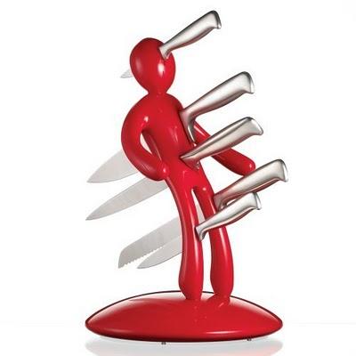 Топ 10 прикольных подставок для ножей