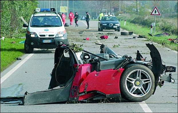 Топ 10 самых скоростных аварий