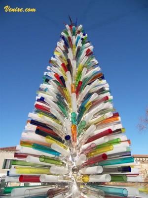 Новогодняя елка из Муранского стекла