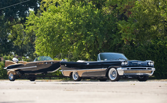 Desoto Adventurer Convertible with Duofoil Boat and Trailer