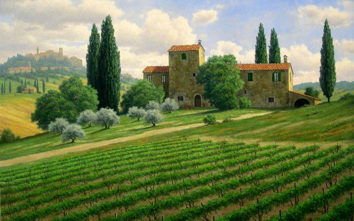 Крупнейшие страны производители вина. Италия