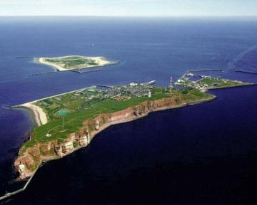 острове Гельголанд