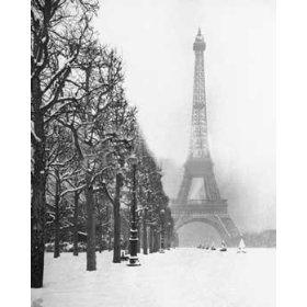 Зима в Париже