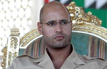 Сын Каддафи