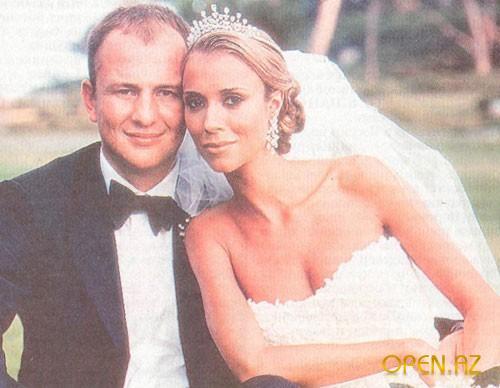 Мисс Югославия Александра Кокотович и Андрей Мельниченко