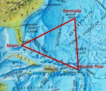 Бермудский треугольник – миф