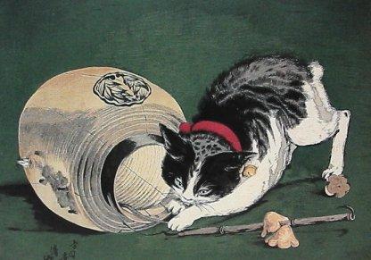 Кот мышелов