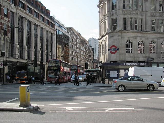 ограбление банка Knightsbridge в Лондоне