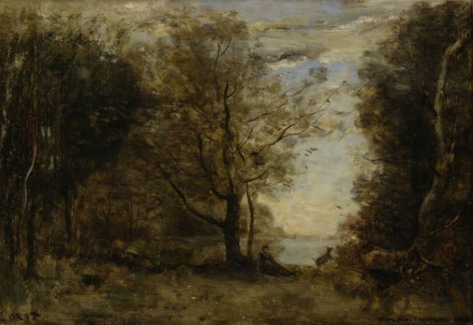 В Лувре был украден пейзаж Камиля Коро