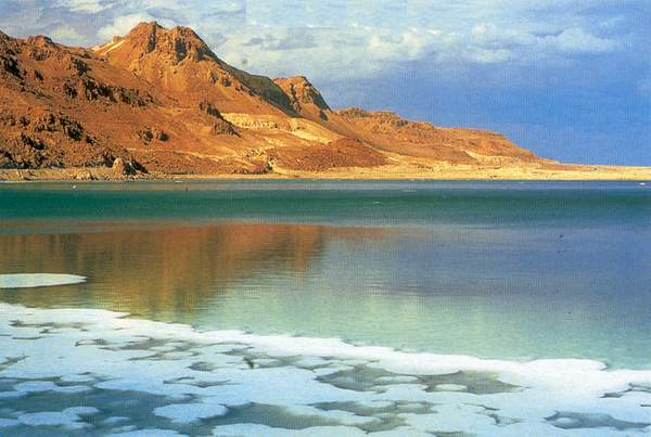 Самое солёное море в мире – Мёртвое море