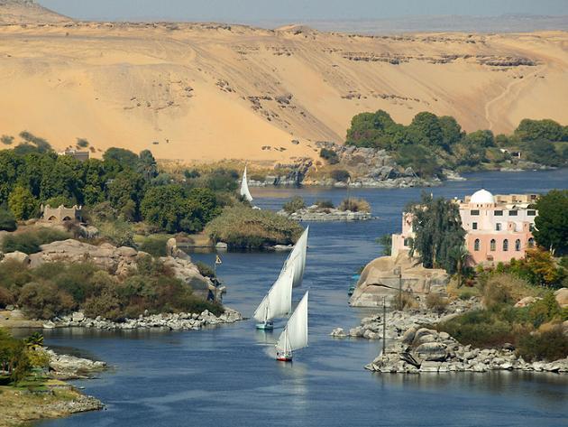 Самая протяжённая река в мире – Нил