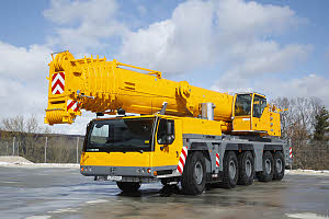 Автокран Liebherr  LTM 1220-5.2, 220 тонн