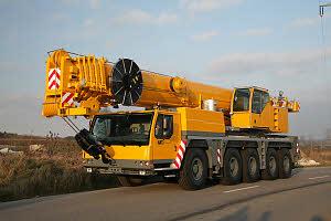 Автокран Liebherr  LTM 1160-5.1, 160 тонн