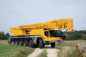 Автокран Liebherr  LTM 1150-6.1, 130 тонн