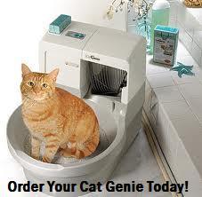 Роботы, ухаживающими за домашними животными CatGenie