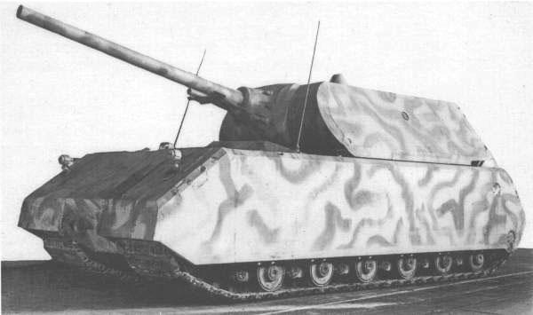 Тяжелый танк Maus