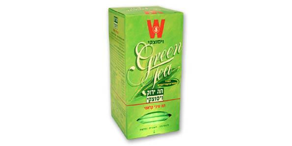 Зеленый чай Wissotzky