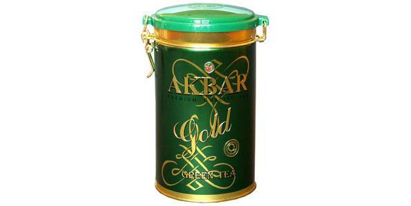 Зеленый чай Akbar Brothers
