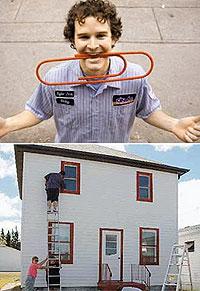 Обмен скрепки на дом