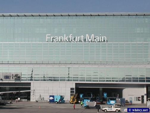 Аэропорт Франкфурта-на-Майне. Германия