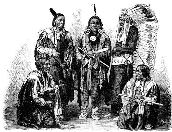 Индейцы Команчи