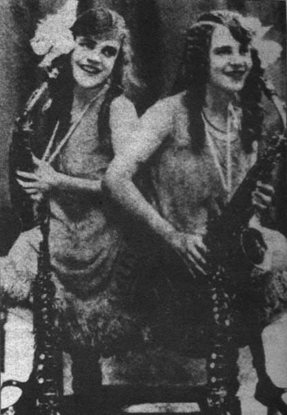 Сиамские близнецы Дэйзи и Виолетта Хилтон
