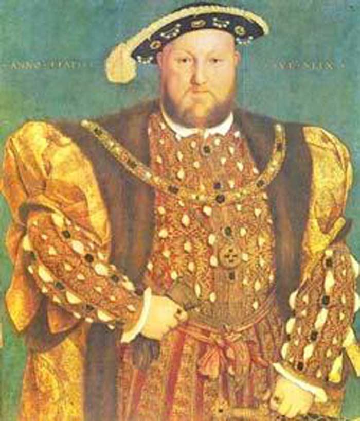 Король Генри 8 Тюдор