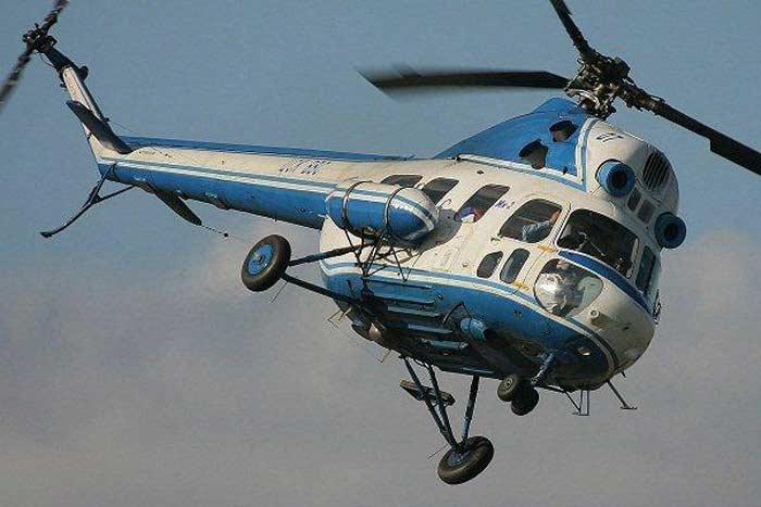 угнали с аэродрома вертолет Ми-2