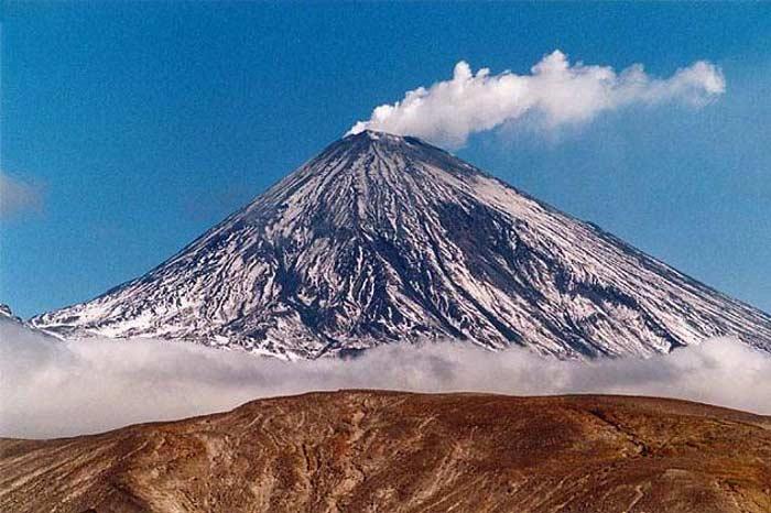 Ключевский вулкан