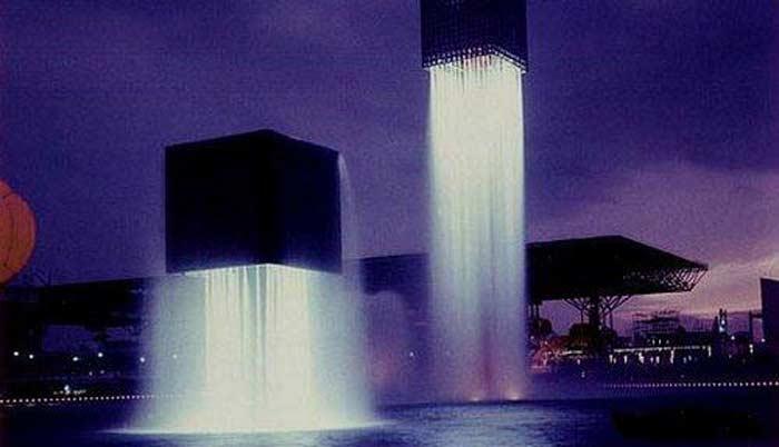 Парящие фонтаны
