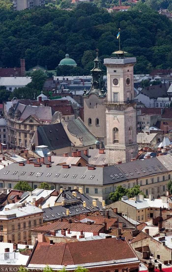 Городская ратуша, Львов